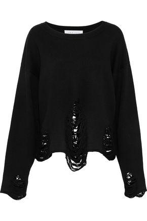 IRO Distressed wool sweater