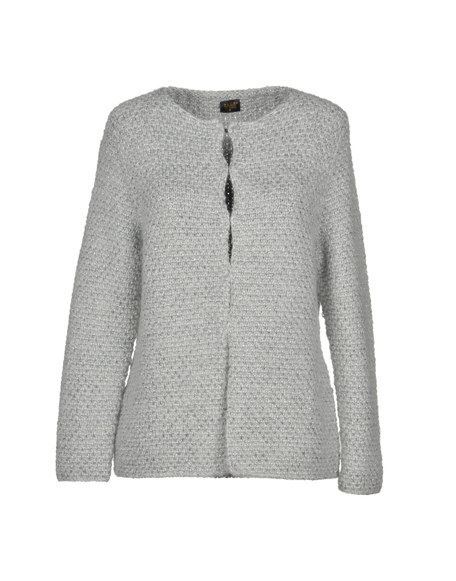 PAUW Cardigan in Light Grey