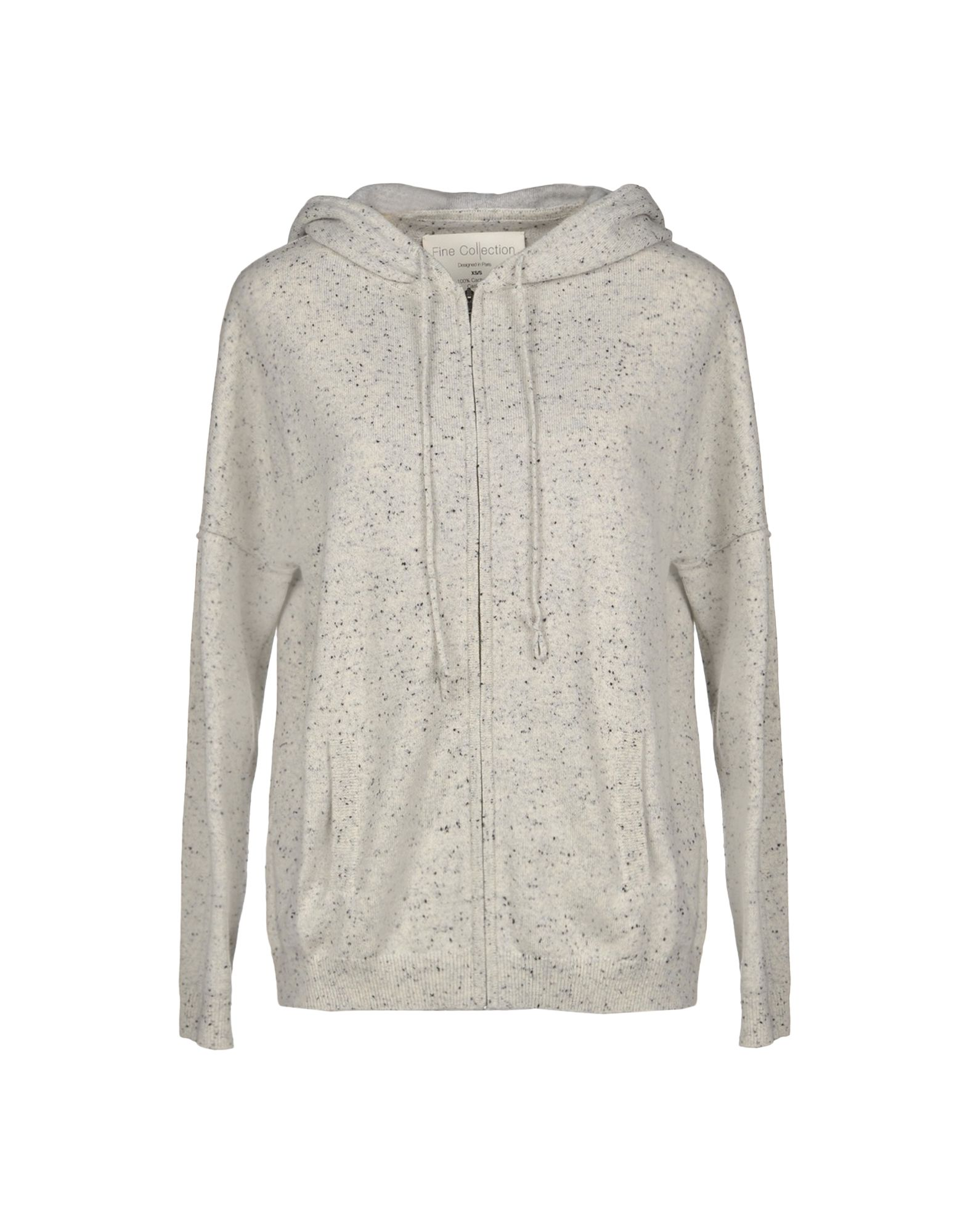 FINE COLLECTION Cardigan in Light Grey