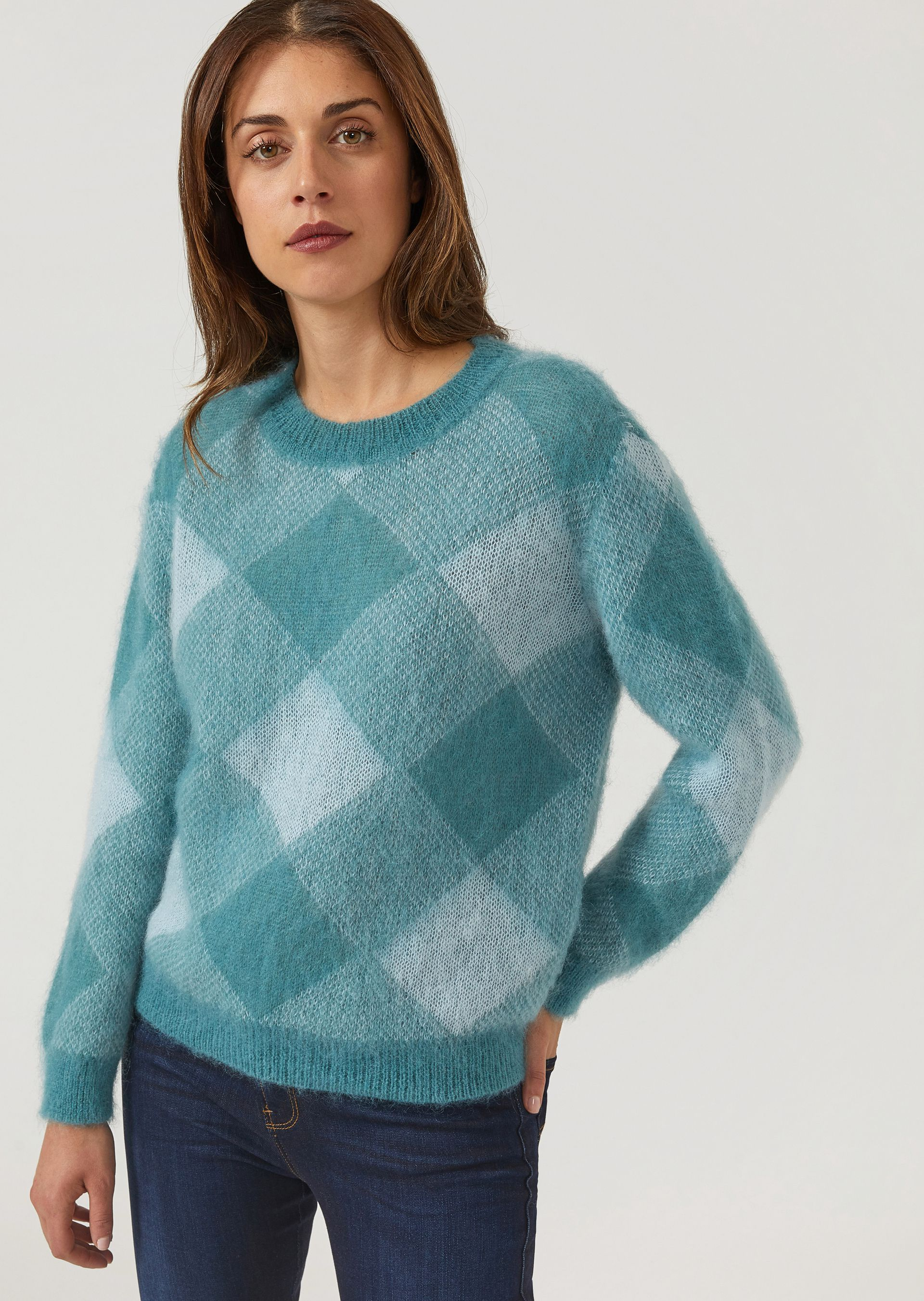 Sweaters - Item 39895932 in Green from ARMANI.COM