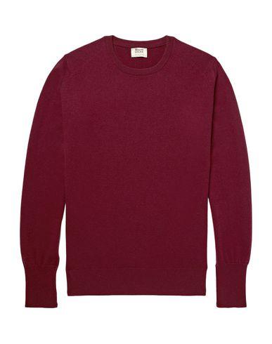 Фото - Мужской свитер WILLIAM LOCKIE красно-коричневого цвета