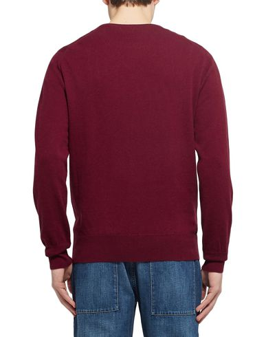 Фото 2 - Мужской свитер WILLIAM LOCKIE красно-коричневого цвета