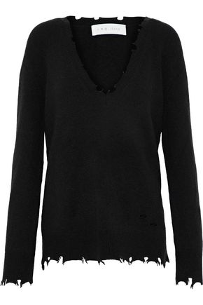 IRO Brody distressed knitted sweater