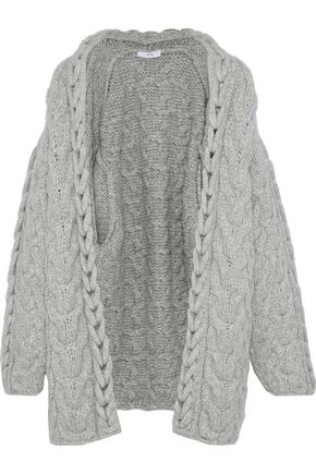 IRO Novyi cable-knit alpaca-blend cardigan
