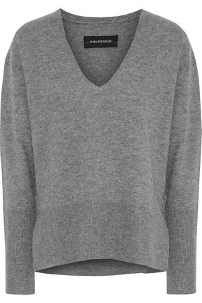 BY MALENE BIRGER Accina mélange wool and cashmere-blend sweater