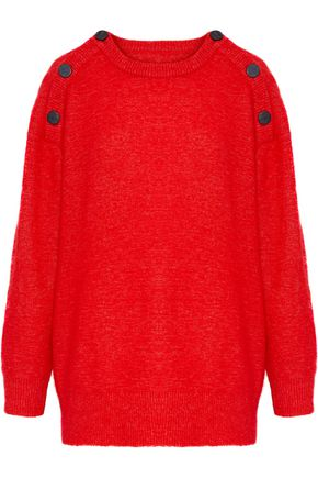 BY MALENE BIRGER Button-detailed knitted sweater