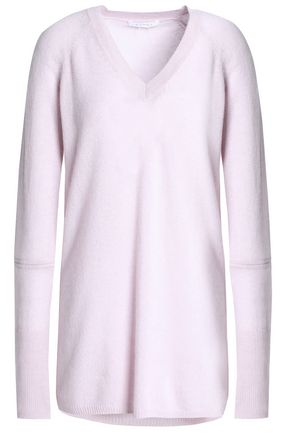 DUFFY Cutout mélange cashmere sweater