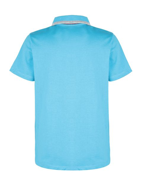 Boys' polo shirt in cotton jersey