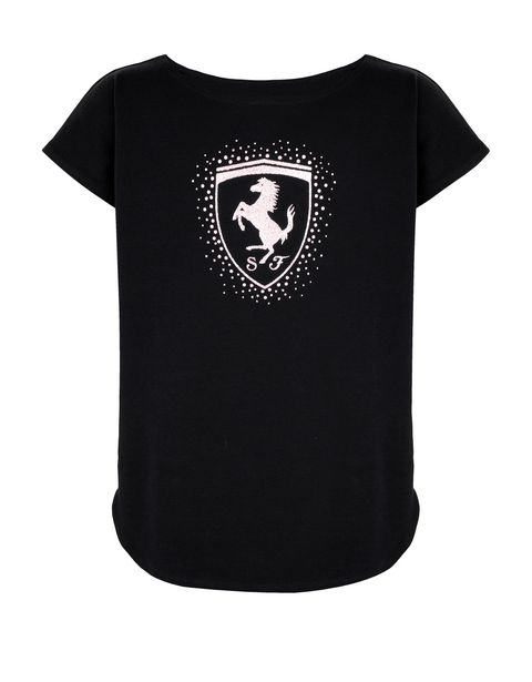 Girls' T-shirt with Shield