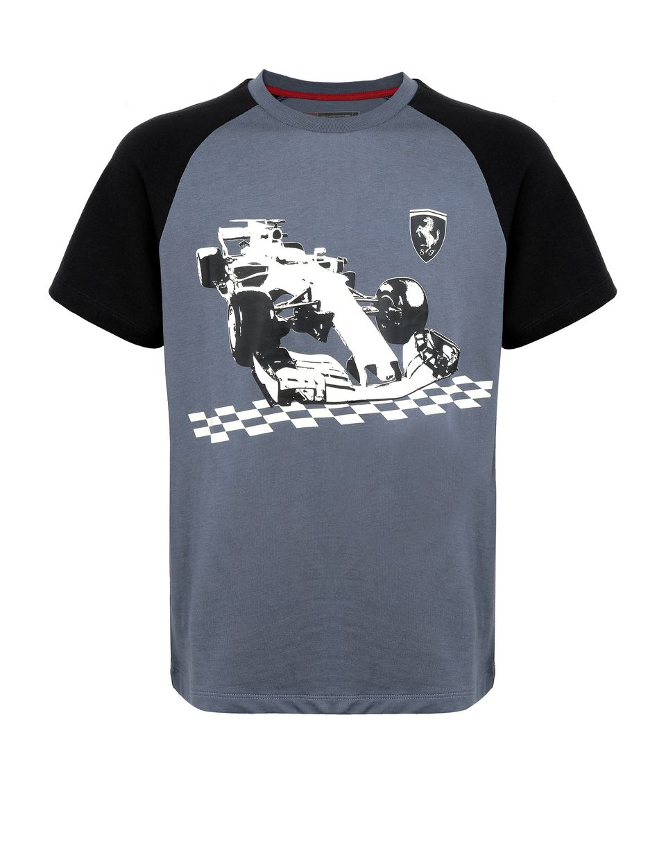 Scuderia Ferrari Online Store - Boy's glow-in-the-dark T-shirt - Short Sleeve T-Shirts