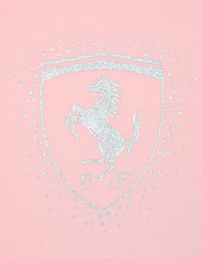 Scuderia Ferrari Online Store - Girls' T-shirt with Shield -