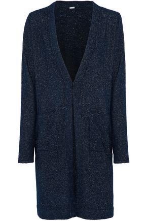 ELIE TAHARI Camerona Swea metallic knitted cardigan