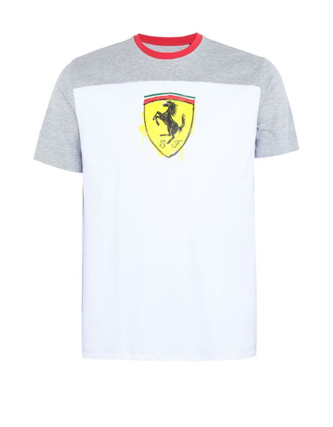 Boys' cotton T-shirt with Shield