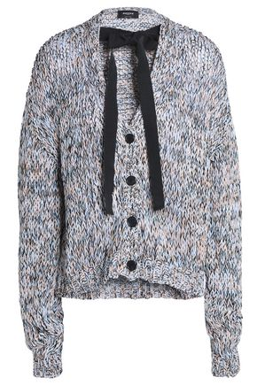 ROCHAS Mélange cotton cardigan