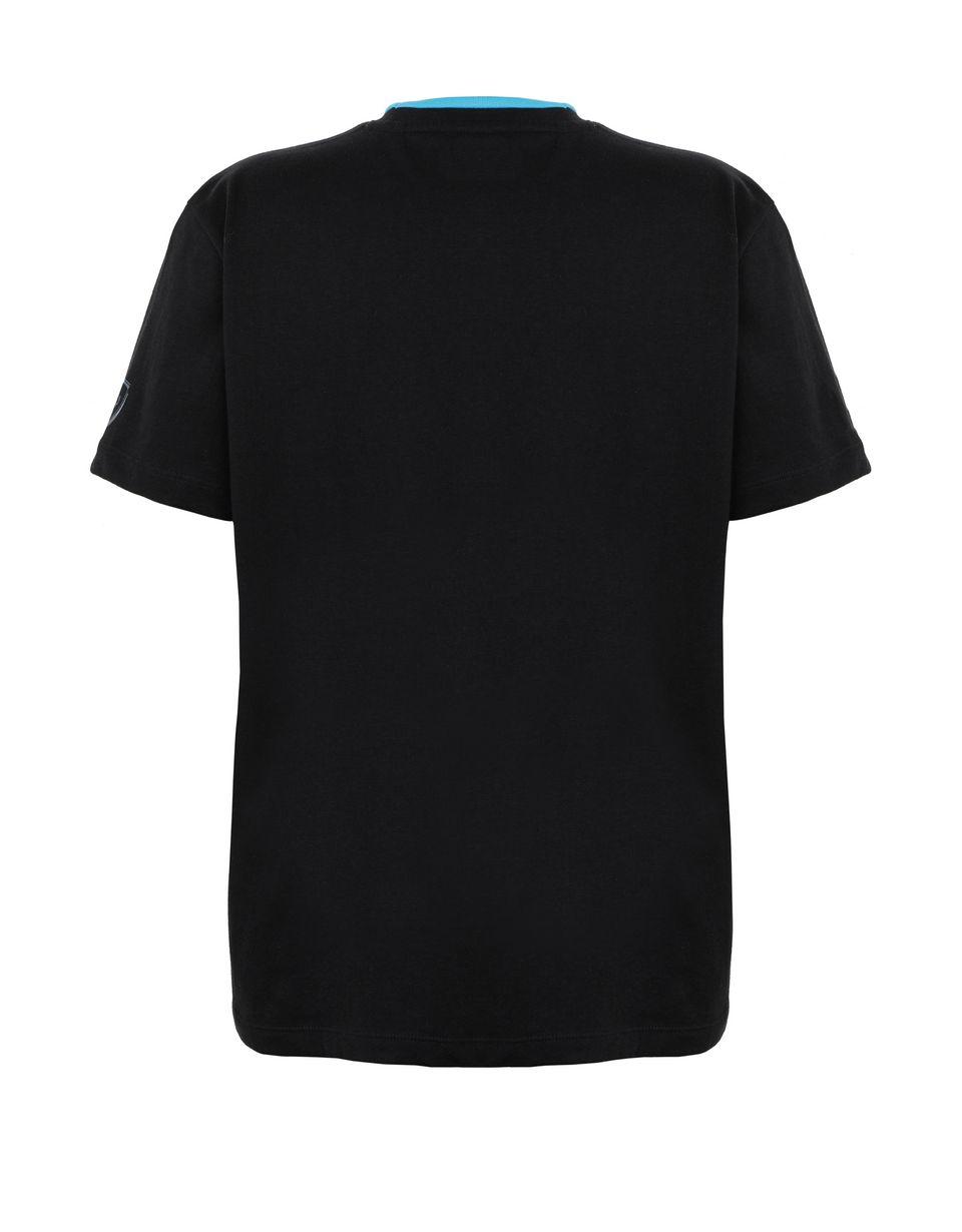 Scuderia Ferrari Online Store - T-shirt ragazzo con stampa circuito da corsa - T-shirt manica corta