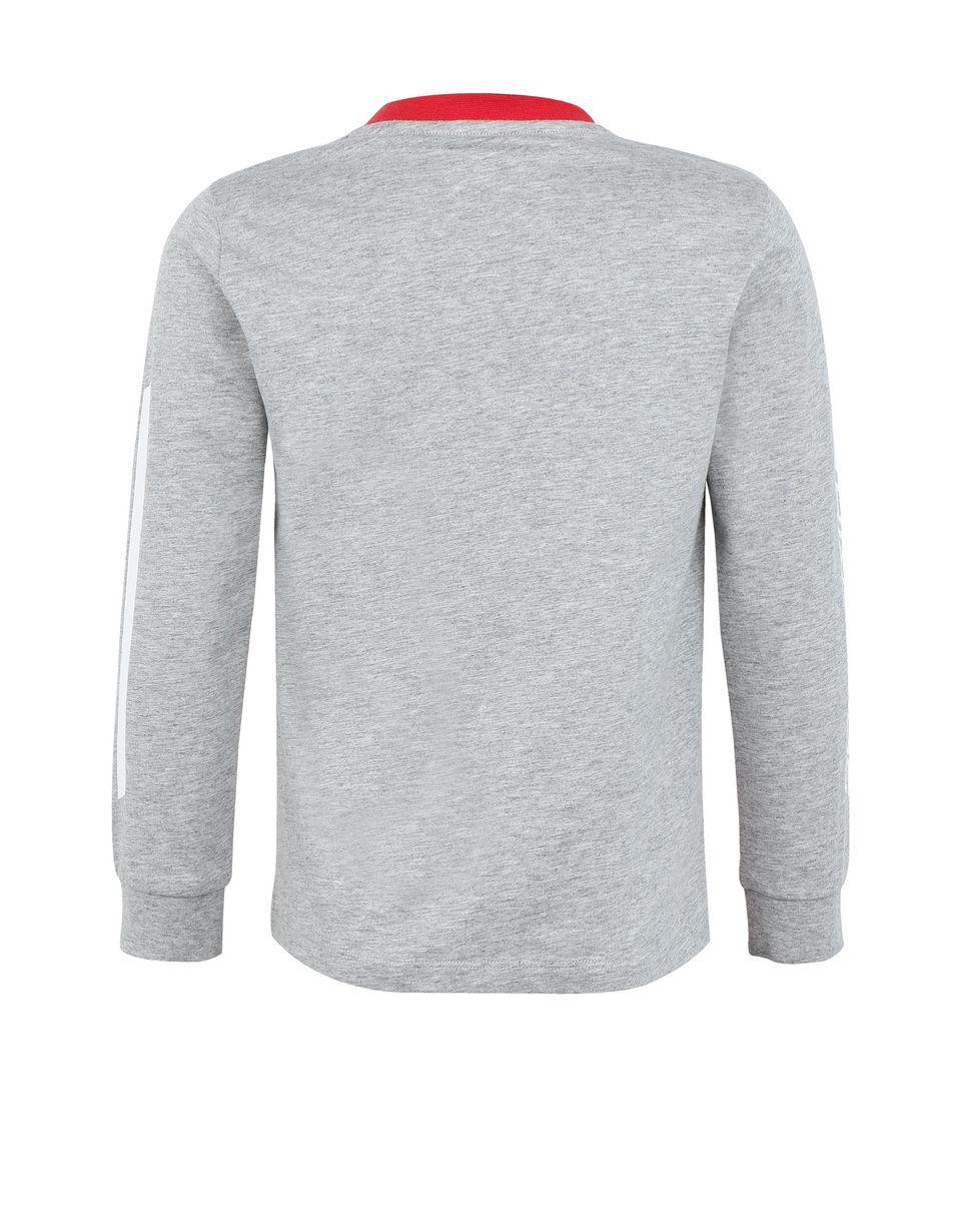 Scuderia Ferrari Online Store - Jungen-Longsleeve aus Baumwolljersey - Langärmlige T-Shirts