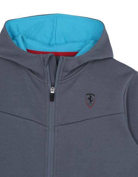 Scuderia Ferrari Online Store - Children's hooded sweatshirt - Zip Hood Jumpers