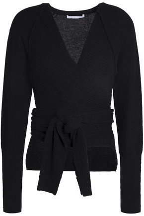 DUFFY Belted cashmere sweater