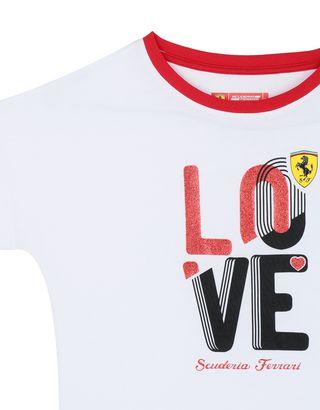 Scuderia Ferrari Online Store - 女童 LOVE T 恤 - Short Sleeve T 恤