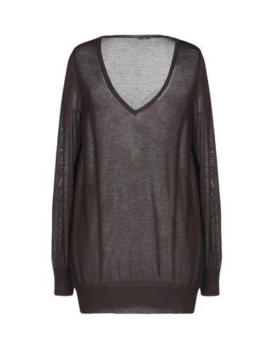 Купить Женский свитер  темно-коричневого цвета