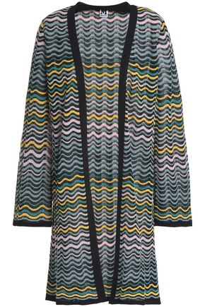 M MISSONI Crochet-knit cotton-blend cardigan