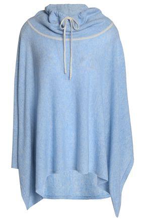 DUFFY Draped mélange cashmere sweater