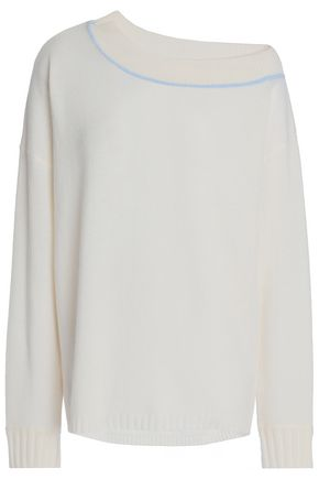 DUFFY One-shoulder cashmere sweater