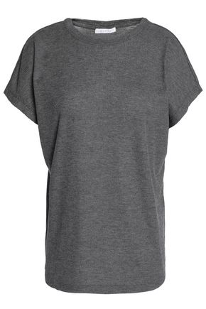DUFFY Ribbed stretch-jersey T-shirt