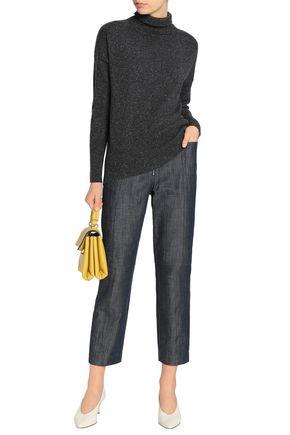 AUTUMN CASHMERE Marled cashmere turtleneck sweater