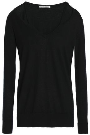 AUTUMN CASHMERE Cutout cashmere sweater