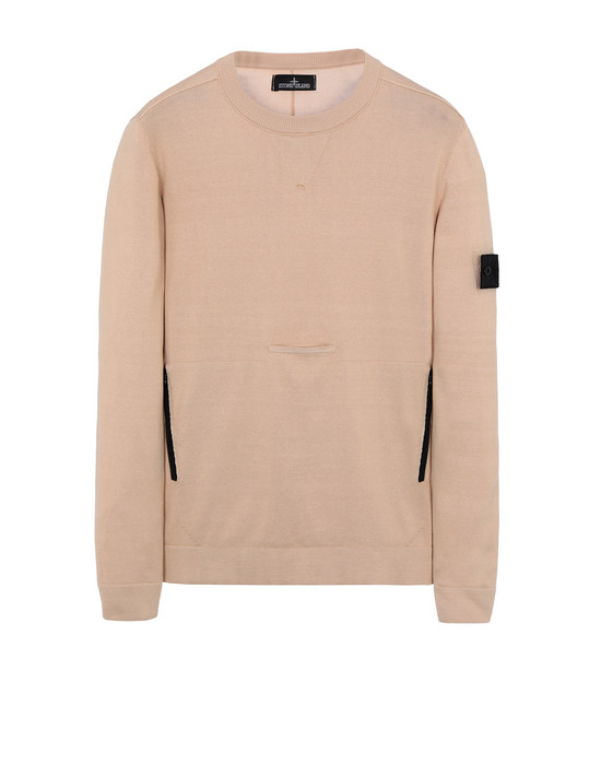 508A2 LACUNA CREWNECK WITH CHAMBER POCKET AND DROP POCKET (100% PIMA COTTON)