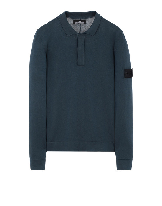 Pullover mit Polokragen 502A2 LS POLO SHIRT (100% PIMA COTTON) STONE ISLAND SHADOW PROJECT - 0
