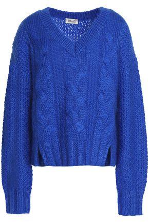 BAUM UND PFERDGARTEN Cable-knit mohair-blend sweater