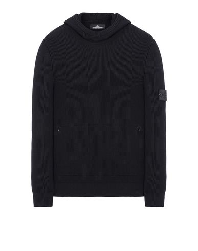 503A4 KNITTED HOODIE (VIRGIN WOOL/SILK BLEND)