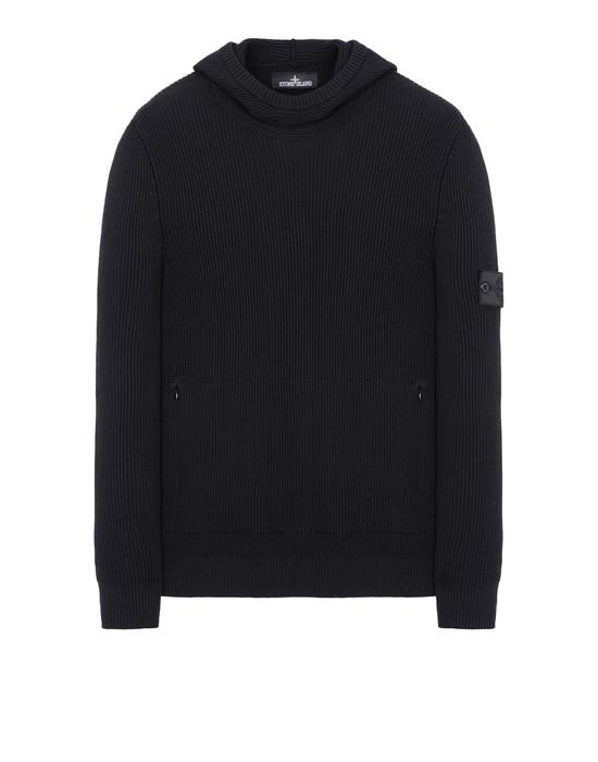 STONE ISLAND SHADOW PROJECT Sweater 503A4 KNITTED HOODIE (VIRGIN WOOL/SILK BLEND)