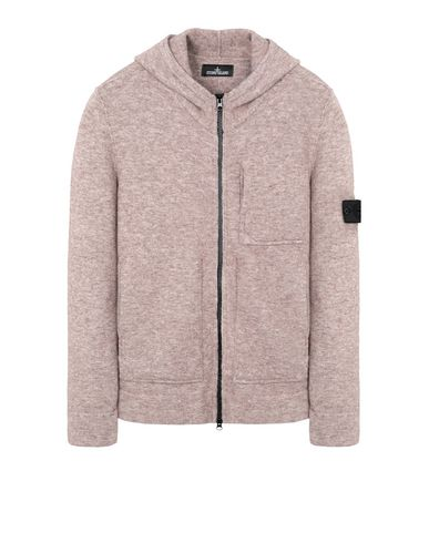 505A3 ENGINEERED HOODED SWEAT WITH STRATA POCKET (WOOL+MIXED FIBRES - GAUZED EFFECT)