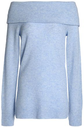 DUFFY Off-the-shoulder cashmere sweater