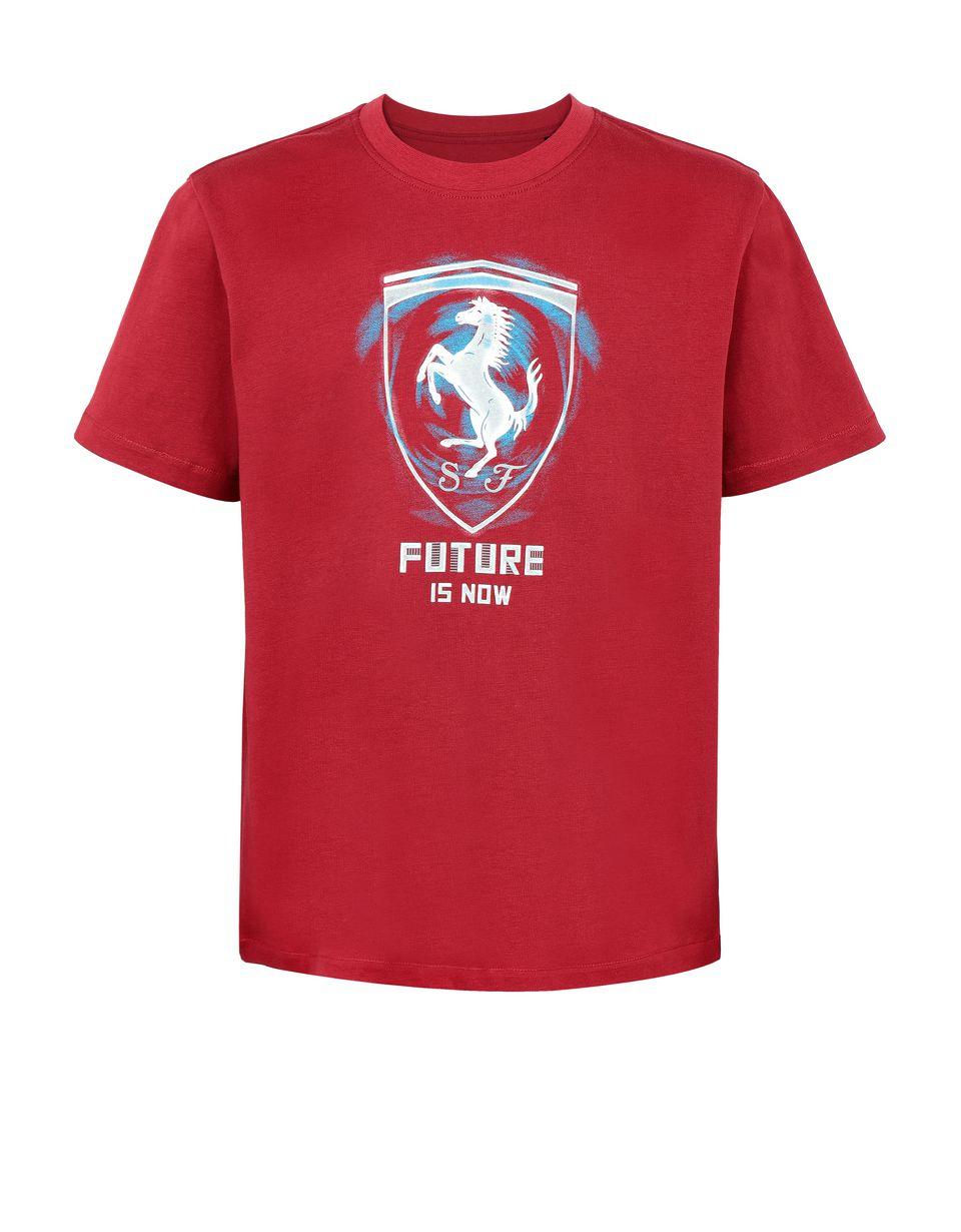 "Scuderia Ferrari Online Store - Jugend-T-Shirt ""Future is now"" - Kurzärmelige T-Shirts"