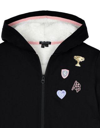Scuderia Ferrari Online Store - Girls' heavy sweatshirt - Zip Hood Sweaters