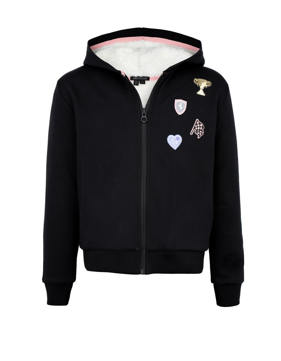 Scuderia Ferrari Online Store - Girls' heavy sweatshirt - Zip Hood Jumpers