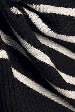 a9d1e6e56f9 Tie-back striped cashmere sweater | VINCE. | Sale up to 70% off ...