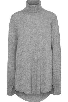df0c9e4cf79 HALSTON HERITAGE Open-back wool and cashmere-blend turtleneck sweater ...
