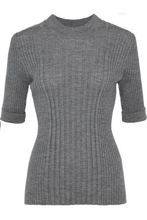 MAISON MARGIELA Mélange ribbed wool sweater