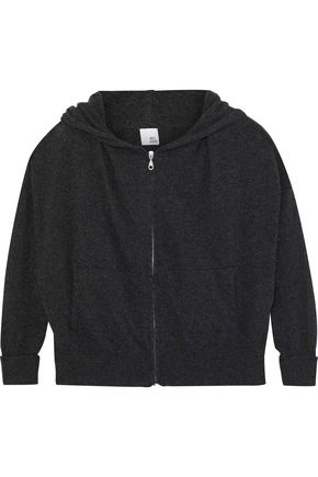 IRIS & INK Cashmere and wool-blend hoodie
