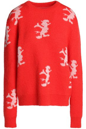 HOUSE OF HOLLAND Jacquard-knit sweater