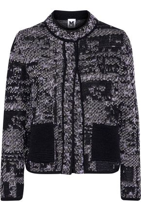 M MISSONI Cotton-blend jacquard jacket