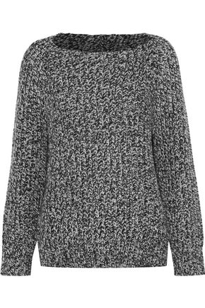 VINCE. Marled wool and cashmere-blend sweater