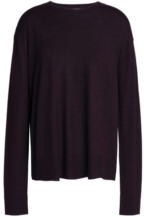 EQUIPMENT Wool, silk and cashmere-blend sweater