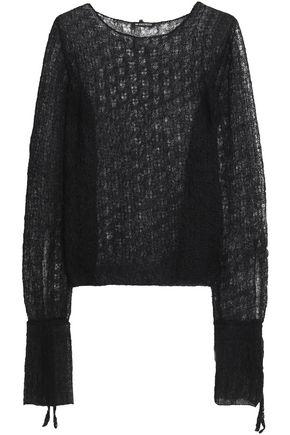 ANN DEMEULEMEESTER Open-knit sweater
