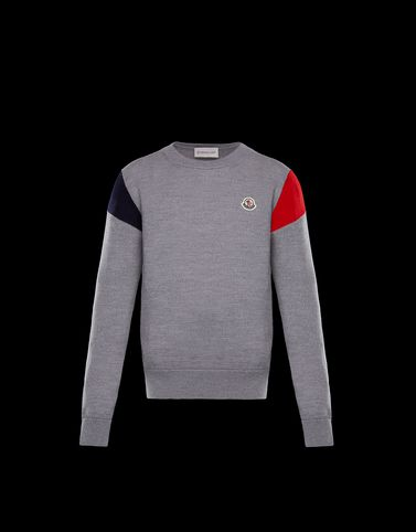 MONCLER CREWNECK - Jumpers - men